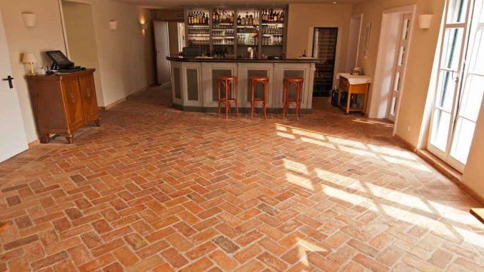 Fußboden Ideen Zumi ~ Fußboden aus backsteinen alte backsteine als terrakotta platten